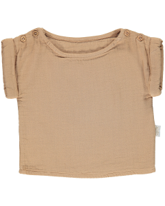 Blouse en coton biologique, Indian Tan
