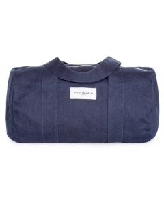 Sac Polochon BALLU, Raw Denim