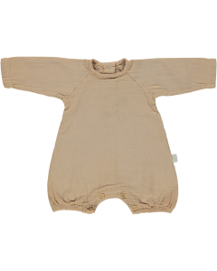 Combinaison Genévrier en Coton biologique, Indian Tan