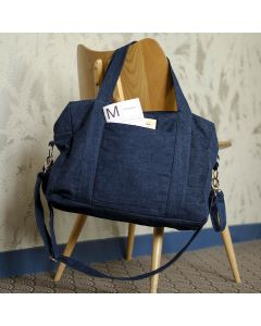 Sac à Langer DARCY, Raw Denim