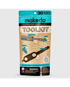 Kit de base Makedo - constructions en carton