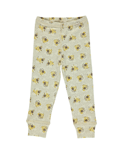 Leggings Basilic Almond Milk Fleurs