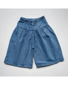 Denim Jupe-Culotte