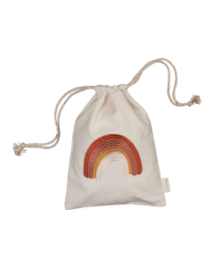 Gift Bag, Brodé, Rainbow