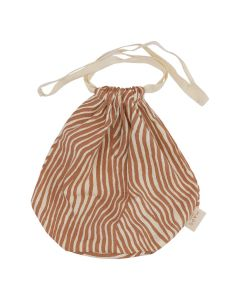 Multi Bag small, Terracotta Wave