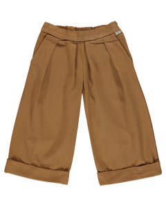 Pantalon Jonc en Coton biologique, Brown Sugar