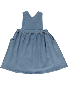 Robe Mangue, Denim Blue Biologique