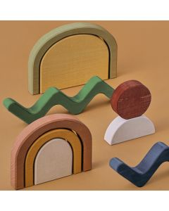 Blocs de construction en bois, Shapes